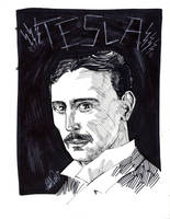 TESLA by drawhard