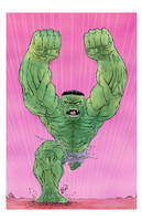 HULK PUNCH clr by drawhard