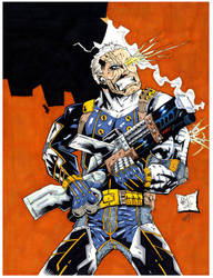 Cable marker by drawhard
