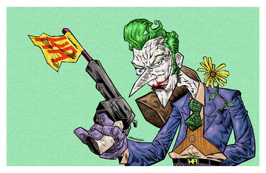 JOKER commission by drawhard
