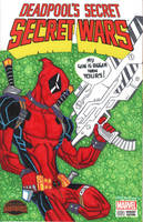 DEADPOOL skech cover by drawhard