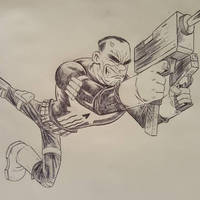 PUNISHER toon style by drawhard
