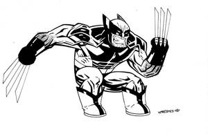 WOLVERINE FAVORITE COSTUME by drawhard
