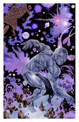 SILVER SURFER  by drawhard