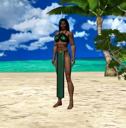 Jade MKD barefoot (DL) by dim1988