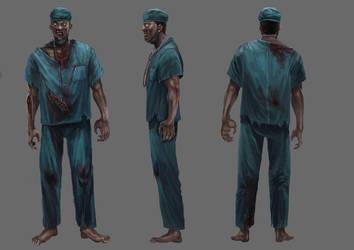 Zombie draft1 by sensevessel