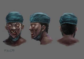 Zombie draft2 by sensevessel