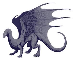 Pixel Dragon Base by StarRaven