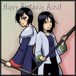 Acra Birthday Gift by StarRaven