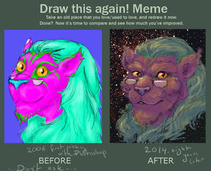 Draw this again by Pthulhu