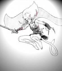 Falling Angel by Greyryder