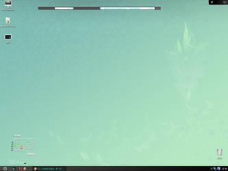 Eye-friendly desktop by Luincir
