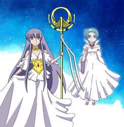 Sasha and Aria by aprict