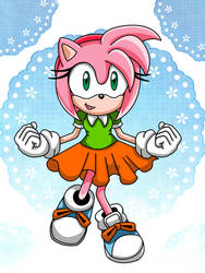 [Com] Amy Rose by aprict