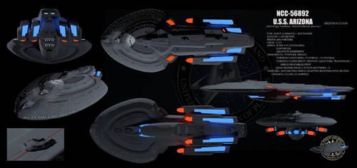Star Trek Arizona Class by isfj1009