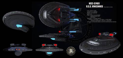Star Trek USS Vincennes by isfj1009