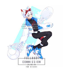 FULLBODY Commission Sample 1 by esuun