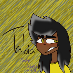 Tabia (test) by Sleepyblooder
