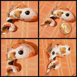 Koi Fish Pendant by GoldenDaffadowndilly