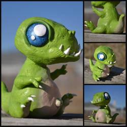 Little T-Rex by GoldenDaffadowndilly