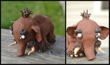 Woolly Mammoth by GoldenDaffadowndilly