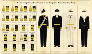 Naval rank insignia and uniforms by Regicollis