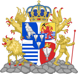 Kingdom of Iceland - coat of arms by Regicollis