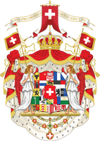 Kingdom of Switzerland - Coat of arms by Regicollis