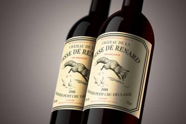 Wine label - Pisse de Renard by Regicollis