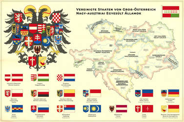 United States of Greater Austria by Regicollis