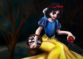 Evil Snow White by TinaM5
