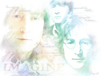 John Lennon - In My Eyes by TerryXart