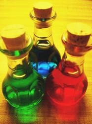 Potions, Elixirs, and Ether by nekonekopai