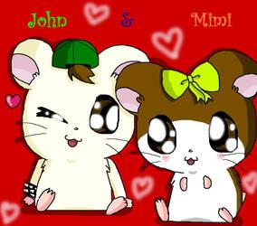 John and  Mimi by Mimigreek