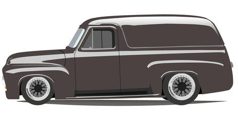 Ford Fr100 Panel van Concept by unklejoe