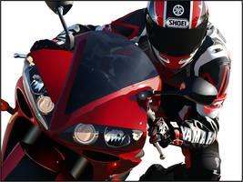 Yamaha R1 by unklejoe