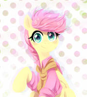 Fluttershy (new outfit) by JumbleHorse