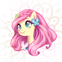 Fluttershy (alternate hairstyle) by JumbleHorse