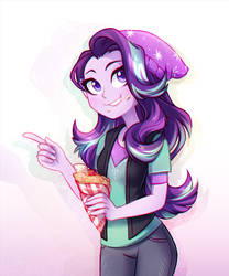 Glim and crepes by JumbleHorse
