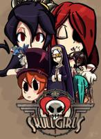 Skullgirls by honey-tree