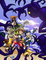 Kingdom Hearts by katizua