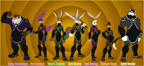 Zadavia - Looney Tunes Wiki |Loonatics Unleashed Wedgie