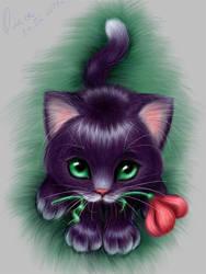 little-cat-3 by OlesyaGavr