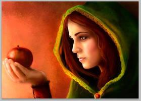 Jablko1 by cramoisie-fleur