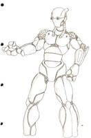 Robot Whoa by SJWebster