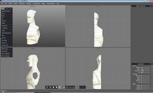 Robot 3D Model Progress by SJWebster