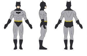 Batman Orthographic by SJWebster