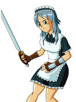 Dragon Quest 9 Maid by SJWebster