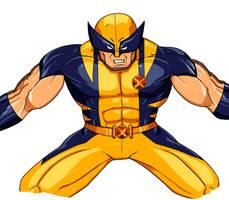 Wolverine by SJWebster