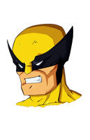 Quick Sketch Wolverine by SJWebster